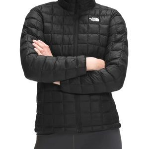 The North Face Stretch ThermoBall Jacket Tnf Black Size Large